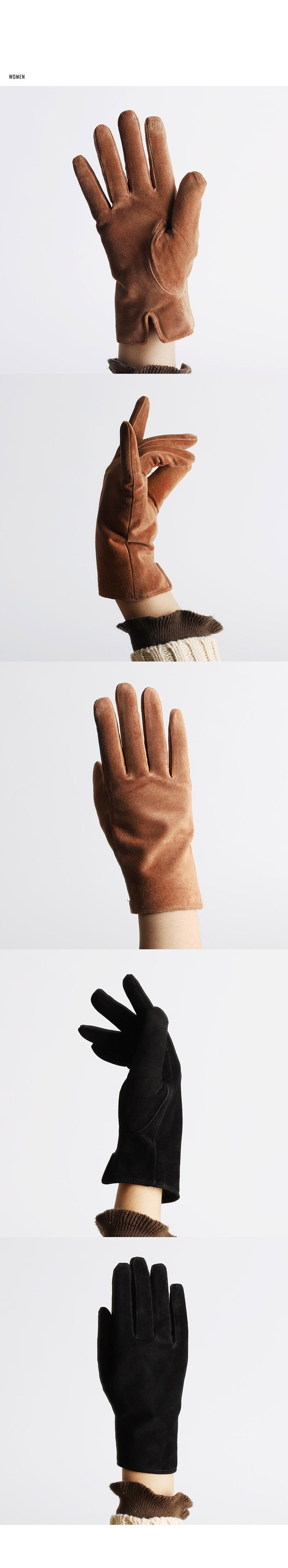 [플래그쉽] 러프 스웨이드 가죽 장갑 [2컬러] (FLAGSHIP rough leather glove)